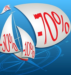 The best discounts in the ocean of prices vector