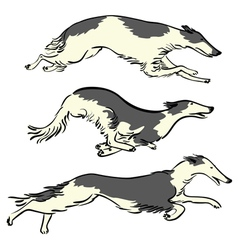 Runningdogs vector