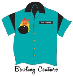 Bowling couture vector