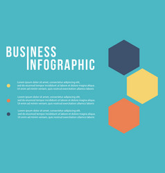 Business infographic step design collection vector