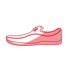 Shoe for men vector