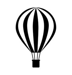 Balloon air hot travel vector