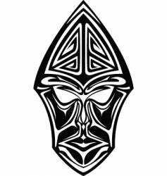 Tribal head vector