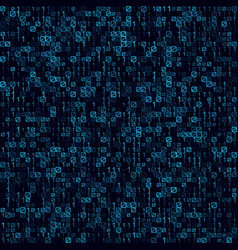 abstract blue technology seamless background vector image vector image