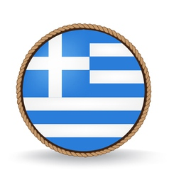 Greece seal vector