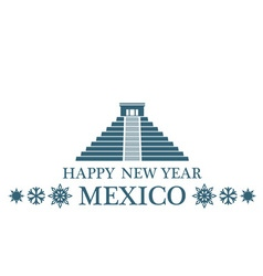 Greeting Card Mexico vector image vector image