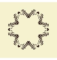 Mandala Round ornament pattern set vector image vector image