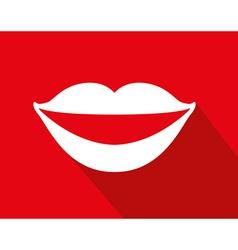 Mouth icon vector