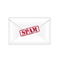 Spam envelope vector image