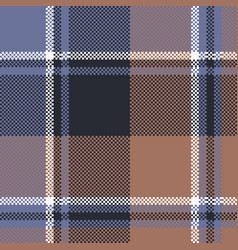 Tartan fabric texture seamless pattern vector