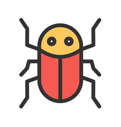 Insect infestation vector