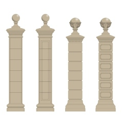 Set of column 3 vector