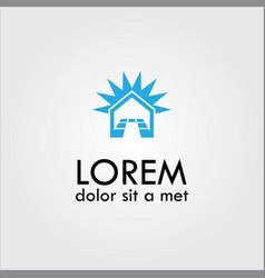 Home tile logo vector