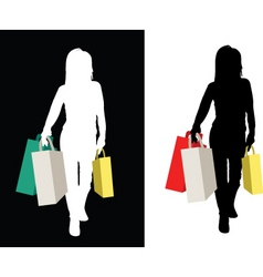 Power shopper vector