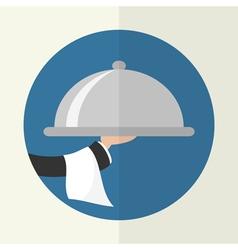 Food Service Icon vector image