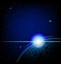lunar eclipse background vector image