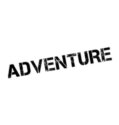 Adventure rubber stamp vector