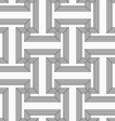 Shades of gray striped t shapes vector