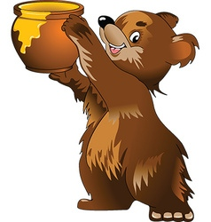 Cartoon bear vector