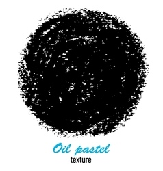 Oil pastel hand drawn texture for presentation vector image vector image