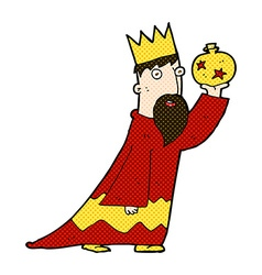 One of the three wise men vector