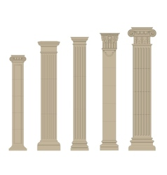 Set of column 2 vector