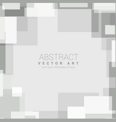 Abstract minimal gray geometric background vector