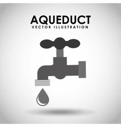 aqueduct tap vector image