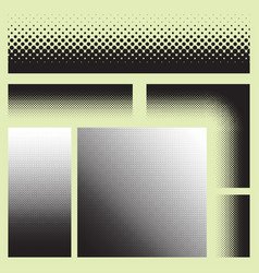 halftone texture seamless pattern raster effects vector image vector image