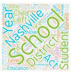 Nashville schools release data and makes plans for vector