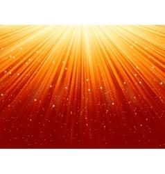 stars snowflakes burst vector image
