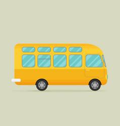 A bus eps10 vector
