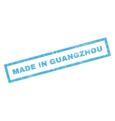 Made in guangzhou rubber stamp vector