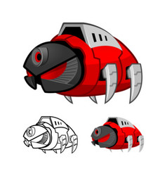 Robot Cockroach vector image vector image