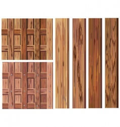wood textures vector image