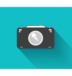 Flat camera vector image vector image