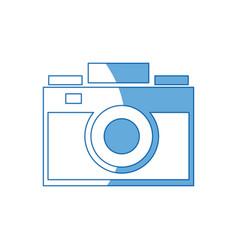 photo camera flash lens image vector image