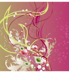 precious bouquet vector image vector image