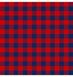 Blue red check textile seamless pattern vector