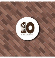 red brick background texture Eps10 vector image