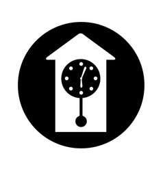 Antique watch isolated icon vector