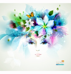 Beautiful women vector image vector image