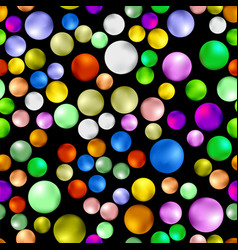 Colorful sweet gumball seamless pattern vector