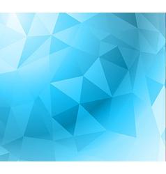 Geometric Abstract Modern BLUE GEOMETRIC vector image vector image