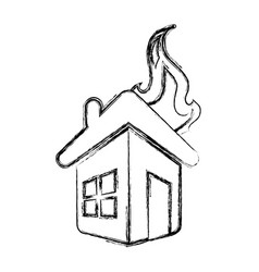 home insurance symbol vector image