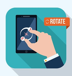 Smartphone design vector