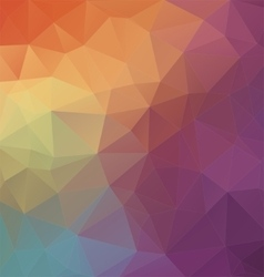 Modern two-dimensional colorful background vector