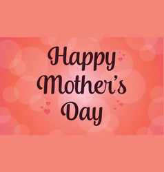 Collection happy mother day card vector