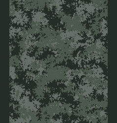 Digital fashionable camouflage pattern vector