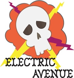 Electric avenue vector